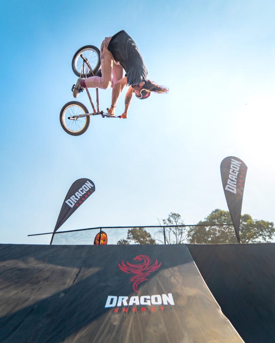 BMXer Vincent Leygonie