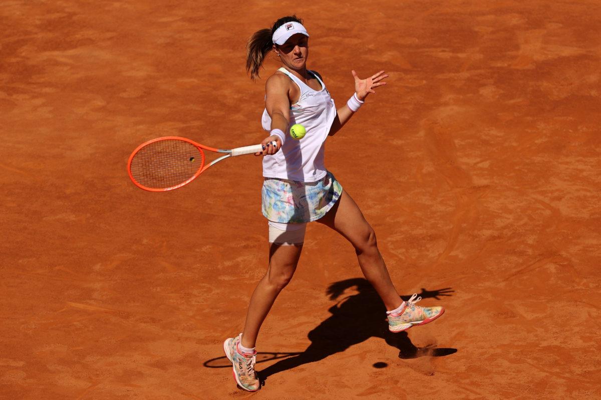 Tennis player Nadia Podoroska