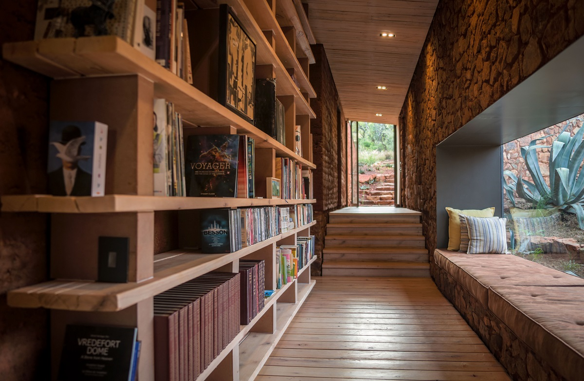 Reading corners are at the order of the day at Witklipfontein