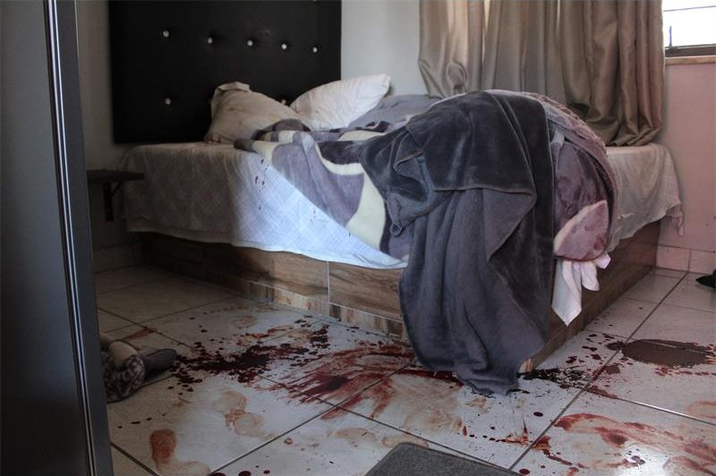 Bloody scene at Kempton Park guest house