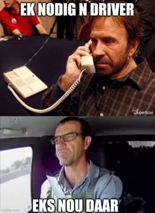 Leo Prinsloo, South Africa's Chuck Norris
