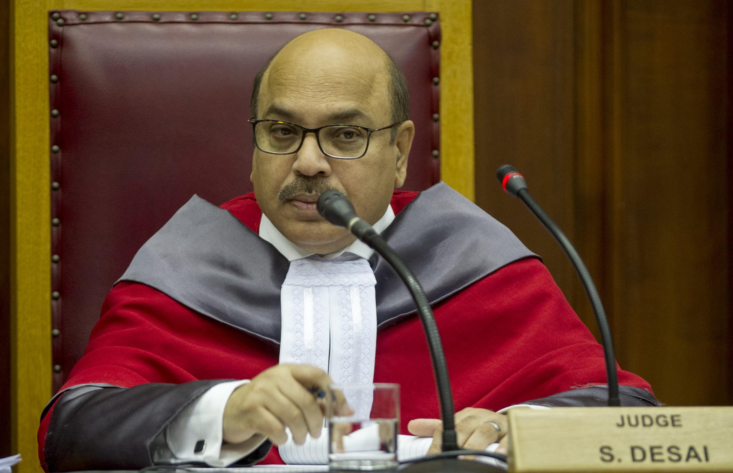 Jewish lobby complains against judge Desai over pro-Palestine stance - The Citizen