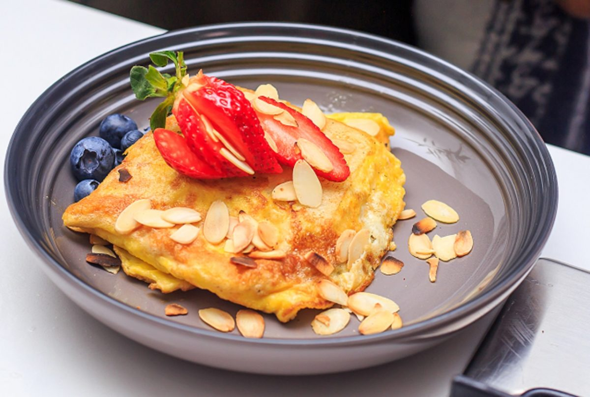 Pap recipe ideas: French omelet