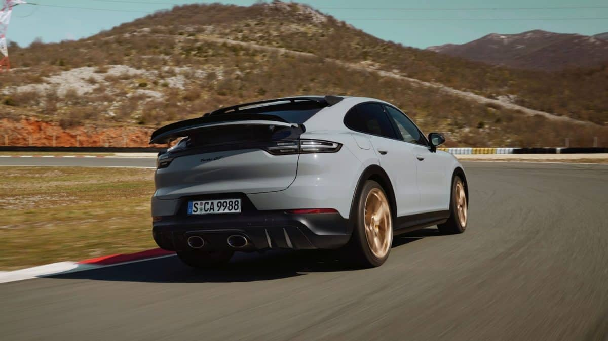 New Porsche Cayenne Coupe GT Turbo