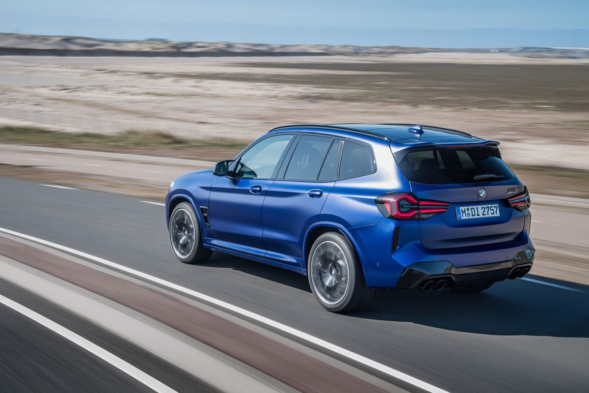 Refreshed BMW X3 and X3 M Competition
