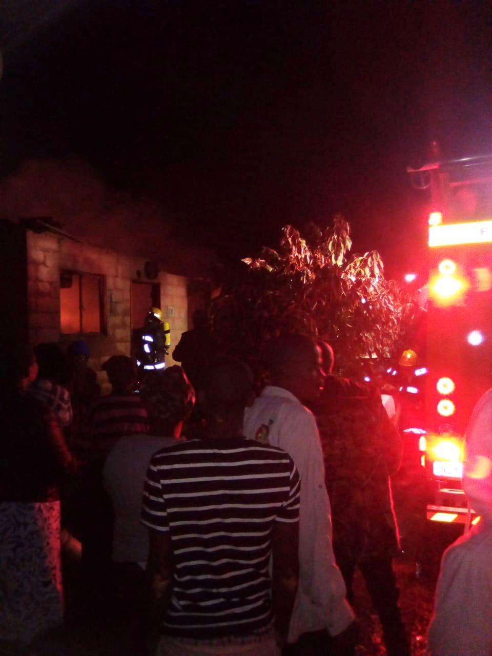 Waterloo KZN fire