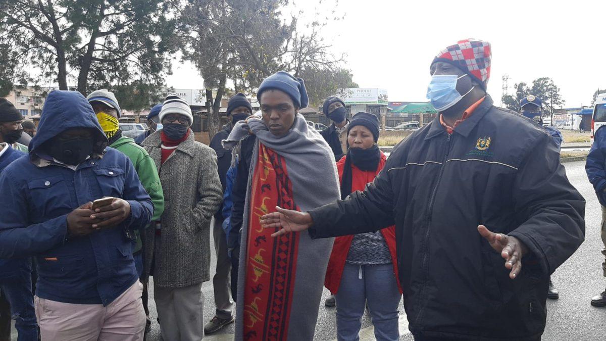 dube soweto protests load shedding eskom