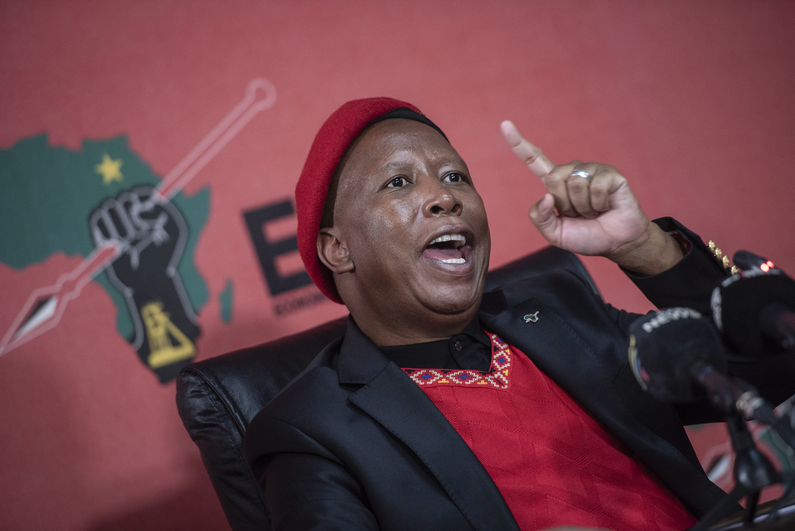 WATCH: 'Stay home. You're going to embarrass us' – Malema ahead of Cyril's G7 trip - The Citizen
