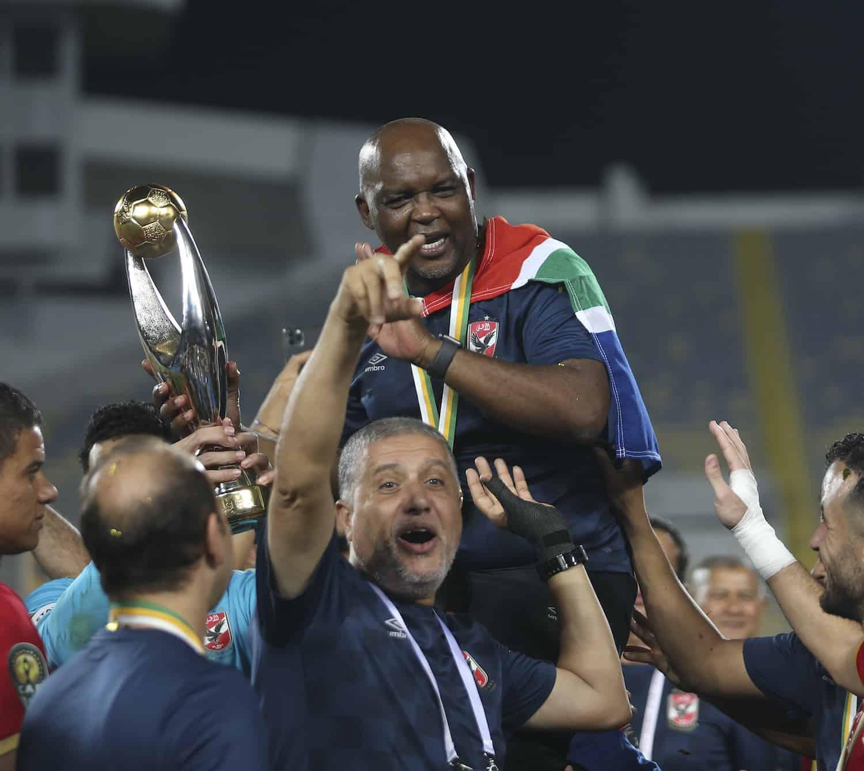 Al Ahly - Pitso Mosimane - Caf Champions League