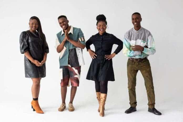Mbali Zulu, Nompumelelo Mjadu, Sandile Sikhakhane, and Sipho Lushaba