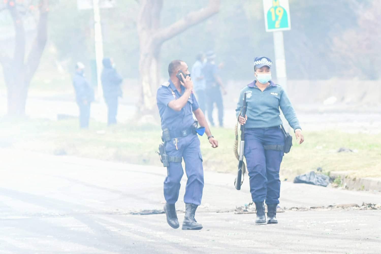 KZN shutdown protests arrests kwazulu-natal
