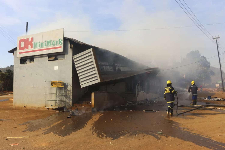 eswatini protests escalate