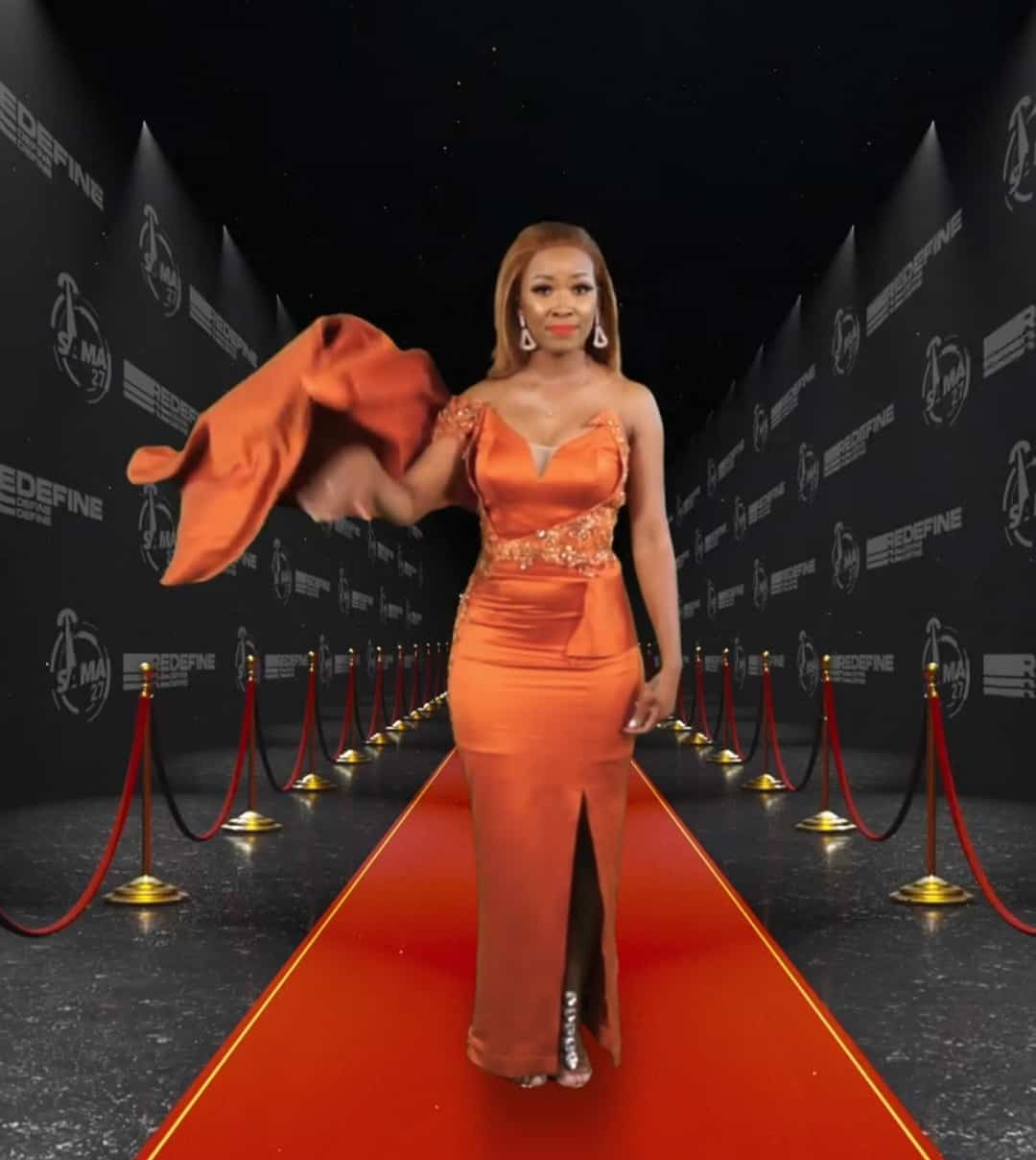 Hle at the South African music awards