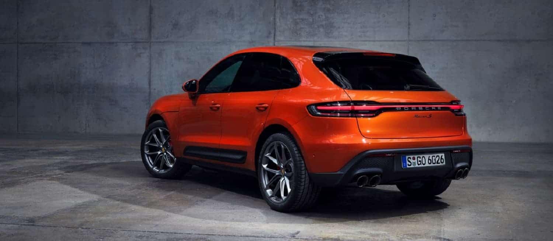 Porsche Macan S rear