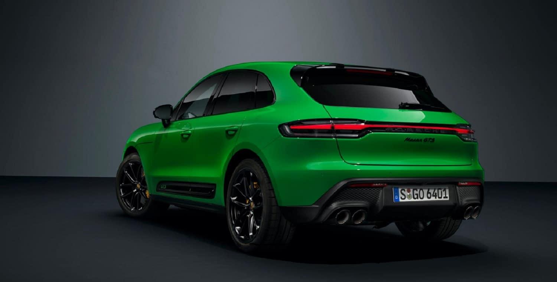 Porsche Macan GTS Sport rear