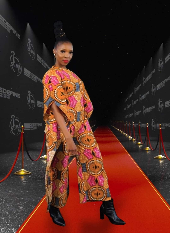 Thandi Ntuli at 27th annual SAMA Awards