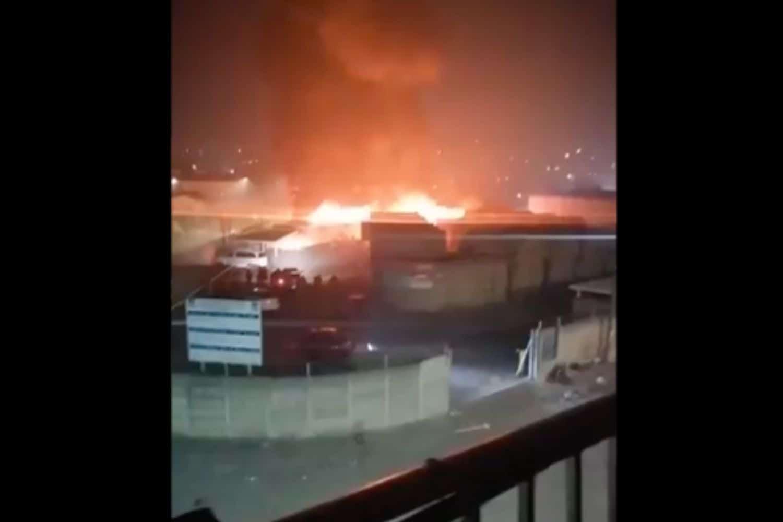 WATCH: Isipingo market burns through the night