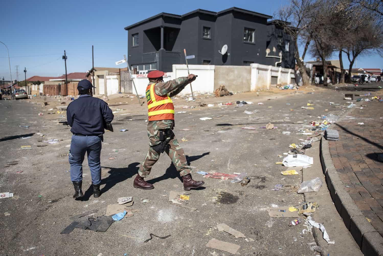 looting soweto