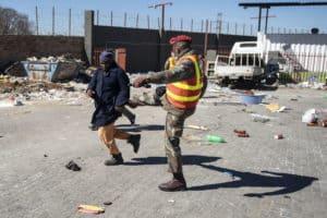 Violent unrest soweto