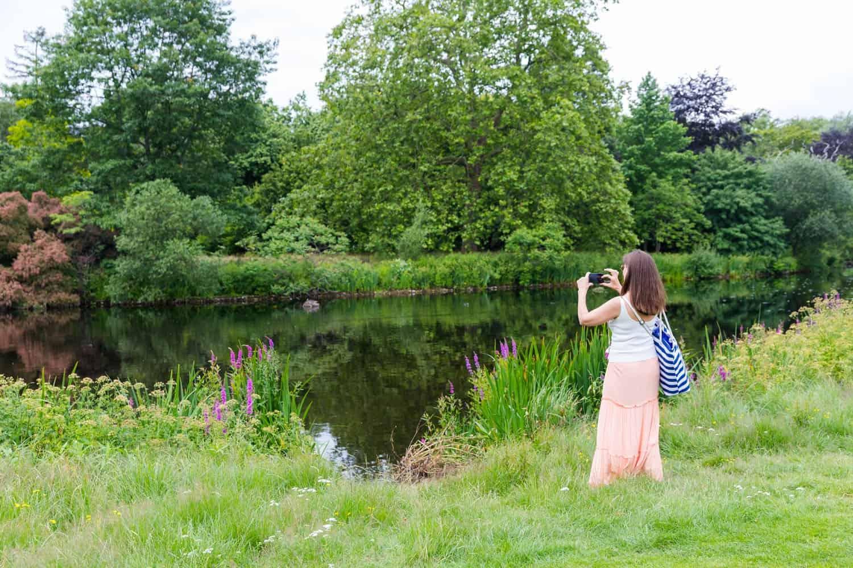 Buckingham Palace Summer Garden - press preview photocall