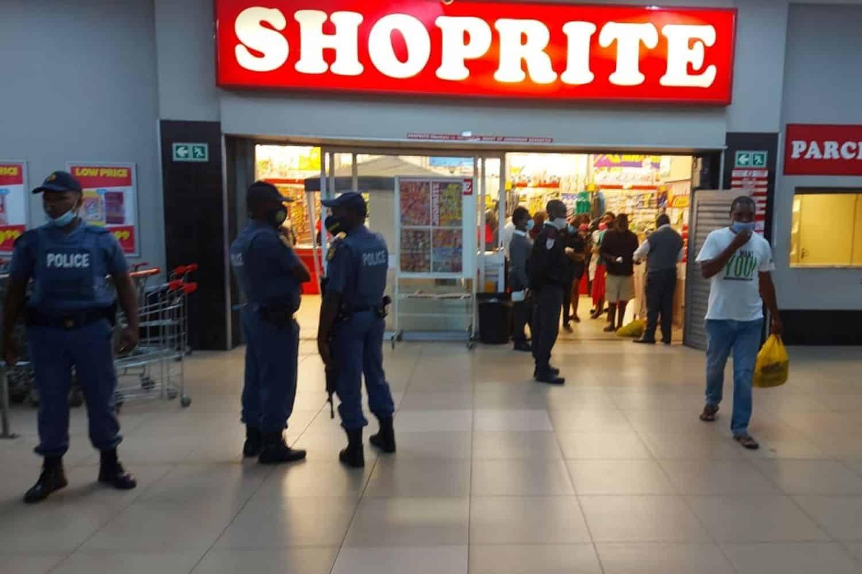 police deployed to hotspots kzn shutdown protests
