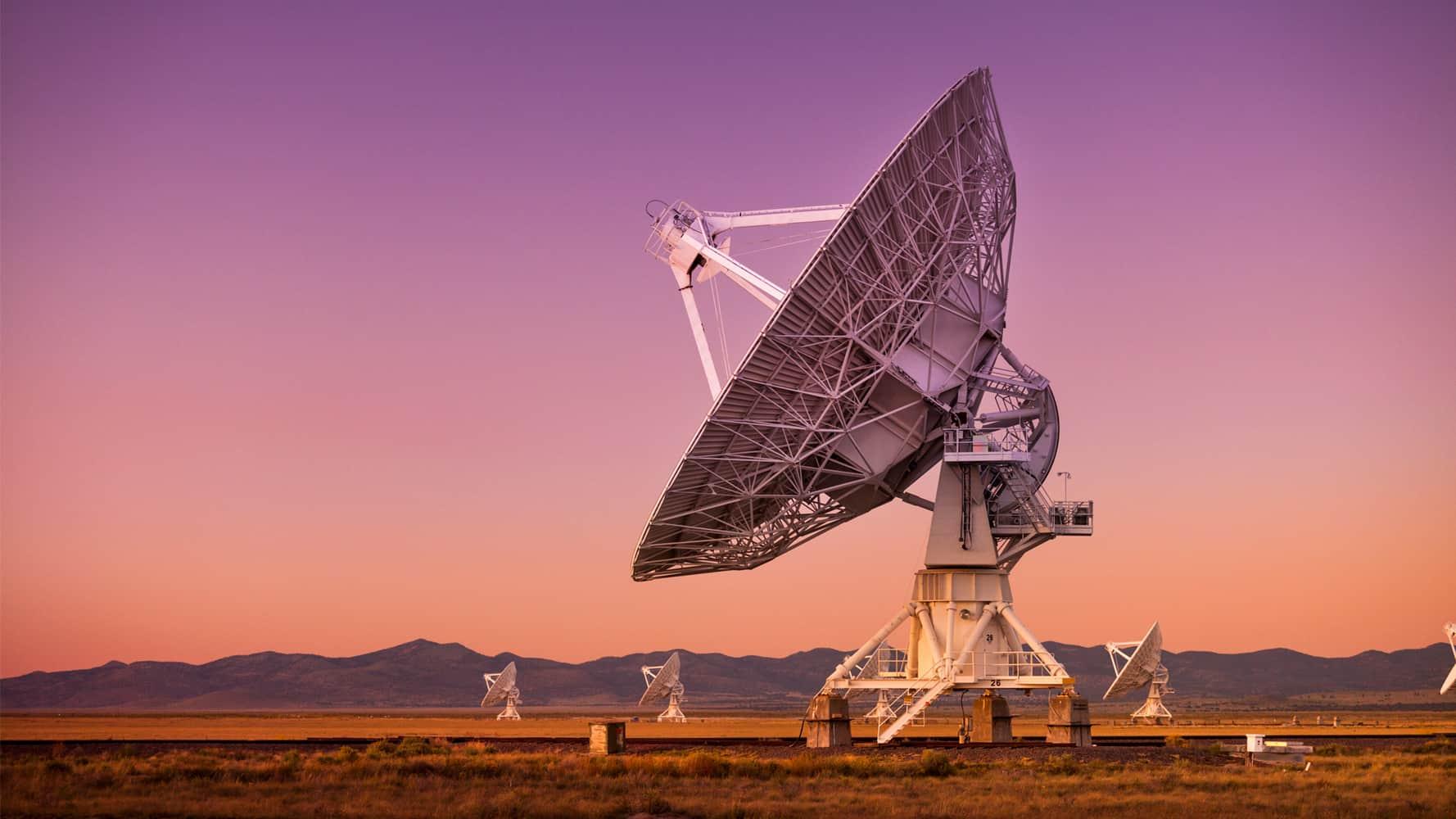 meerkat telescope galaxies discovery
