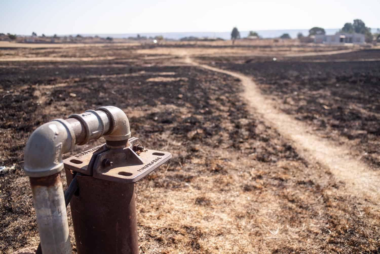 Limpopo ground fire