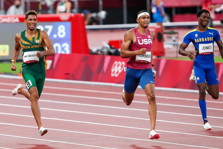 Wayde van Niekerk Olympics