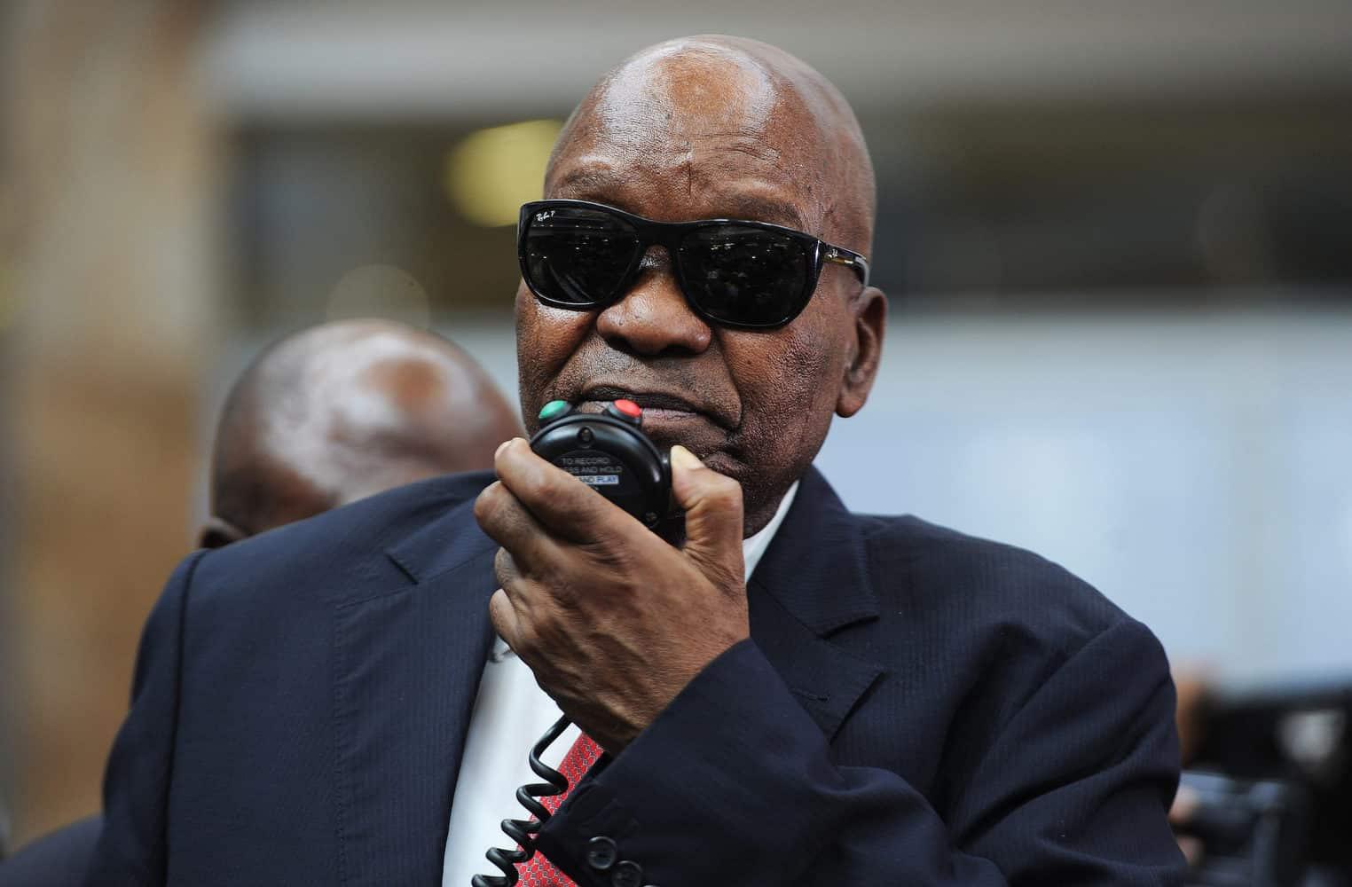 Zuma hospitalised