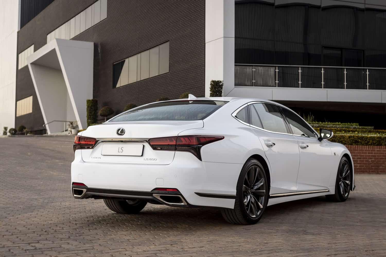 facelift Lexus LS