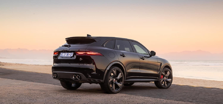 facelifted Jaguar F-Pace SVR