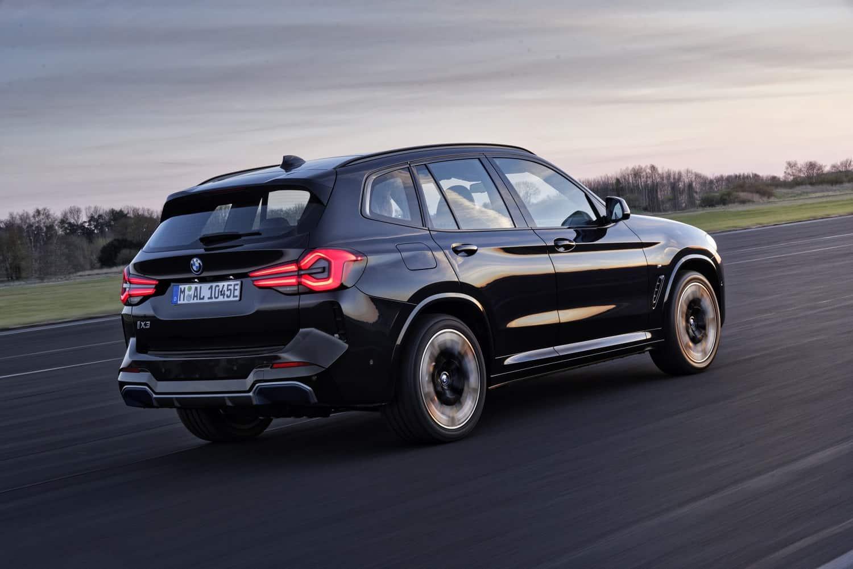 Restyled BMW iX3