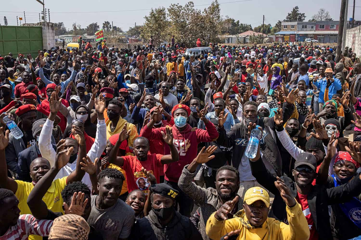 Zambia elections Opposition leads early vote count