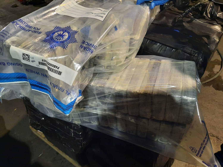 cocaine bust R500 million durban port hawks