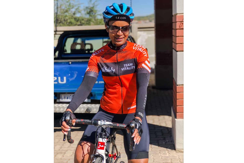 Team Vitality Champion Nosipho Simelane