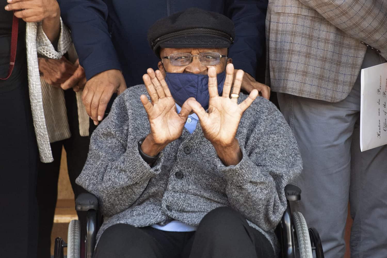 Desmond Tutu's 90th-birthday auction fetches R3.5 million