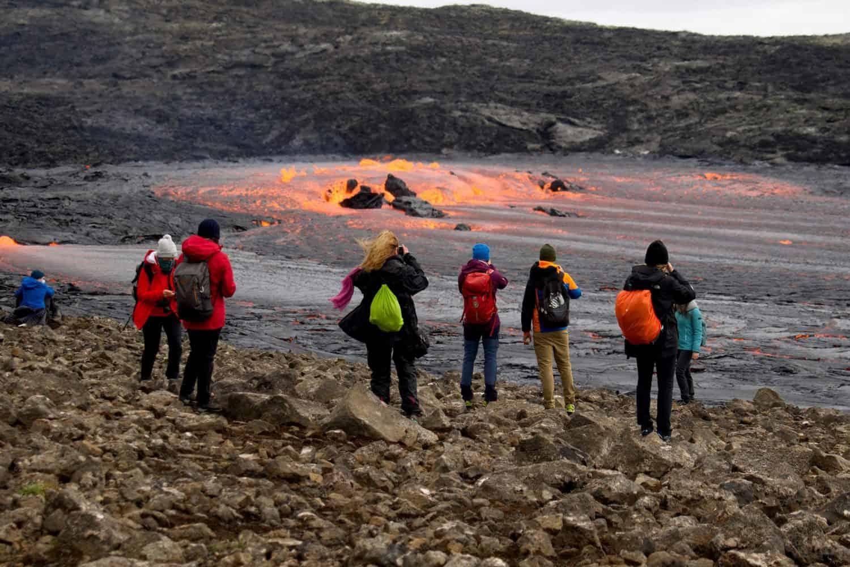 Iceland volcano still erupting after six months