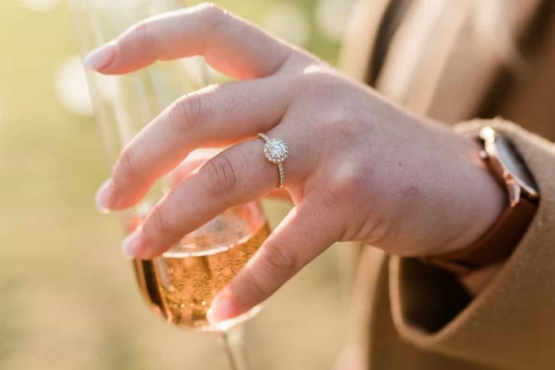 Chantelle's engagement ring