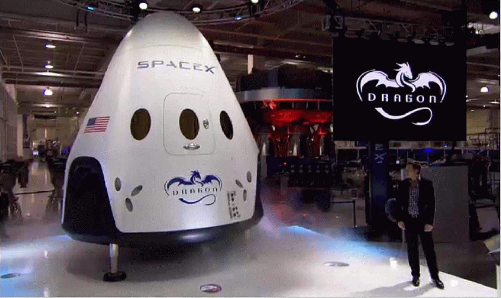 Crew Dragon capsule