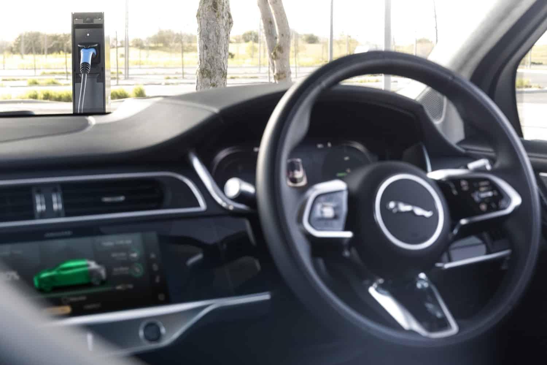 updated Jaguar I-Pace