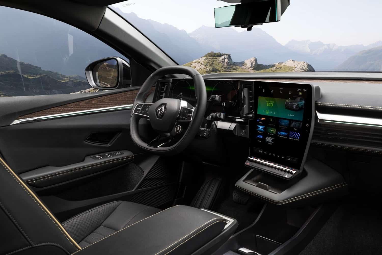 Renault Megane E-Tech crossover