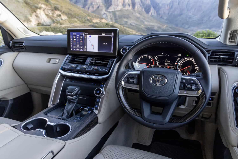 new Toyota Land Cruiser 300