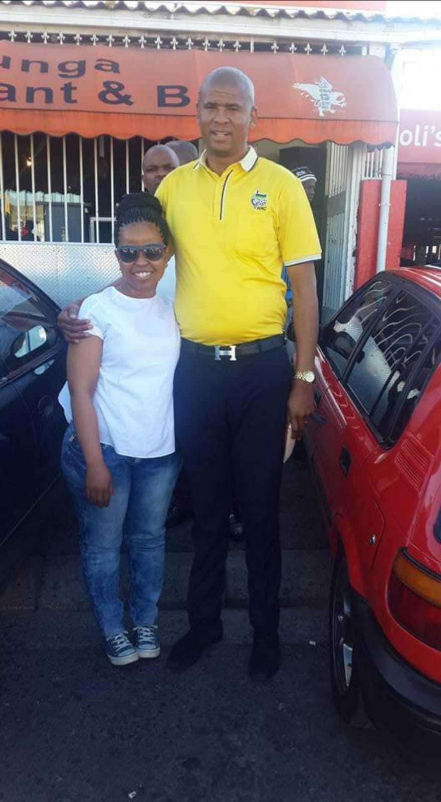 Loyiso Nkohla during his days as an ANC councilor circa 2014