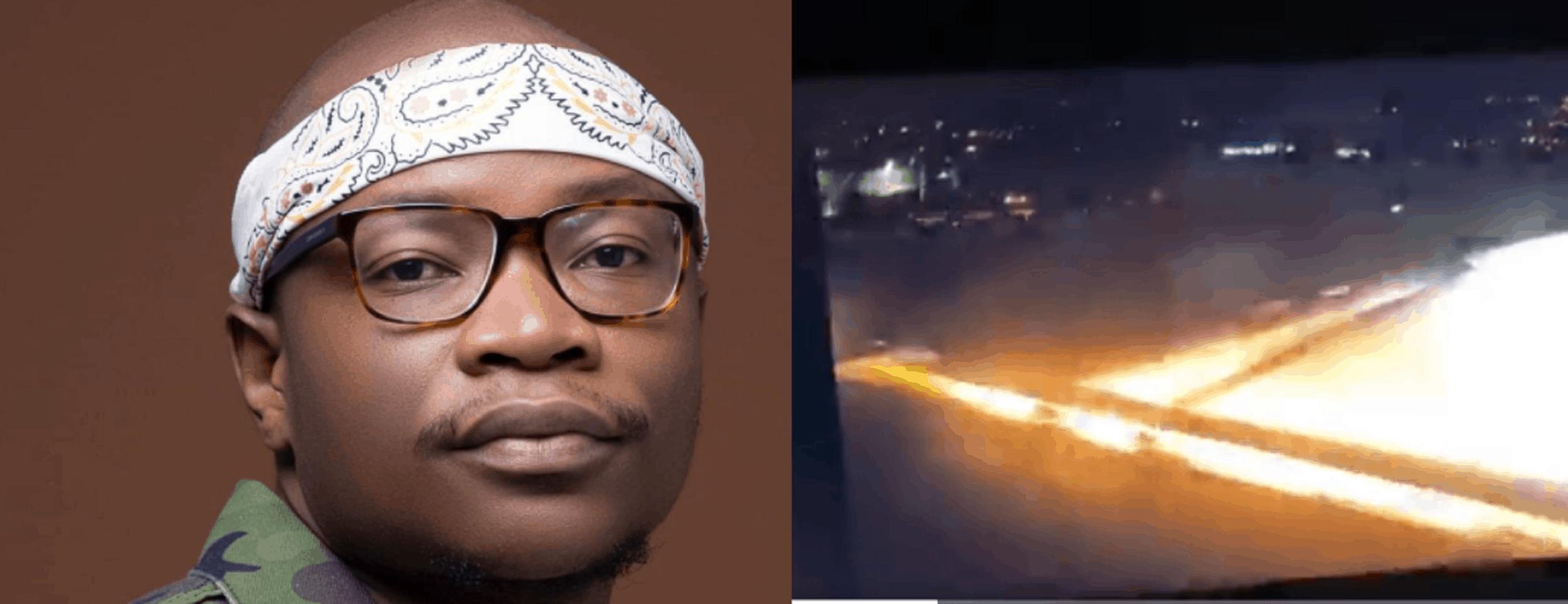 Master KG survives a plane explosion