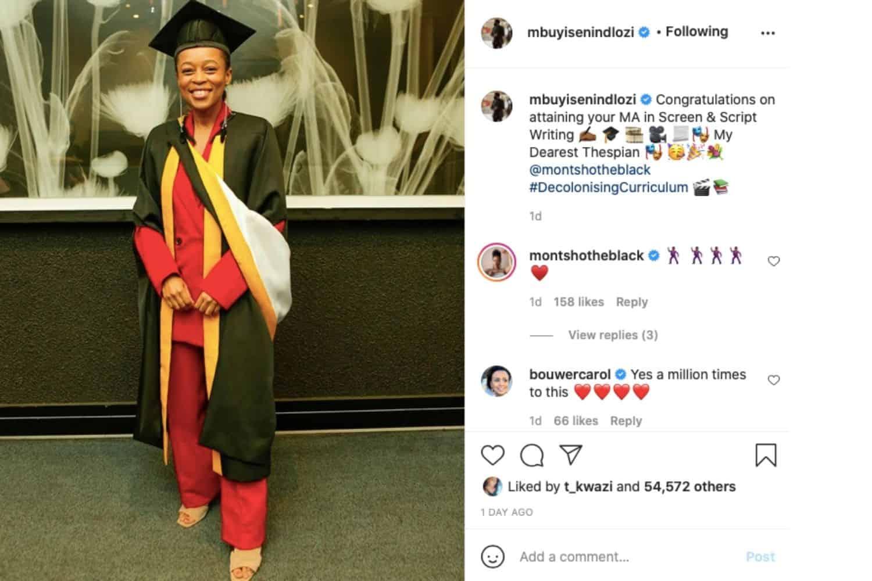 Mbuyiseni Ndlozi congratulates Mmabatho Montsho