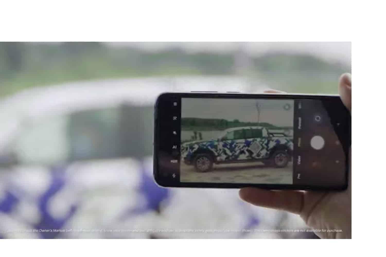 New Ford Ranger teaser