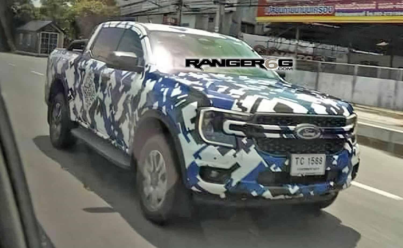 New Ford Ranger spy images