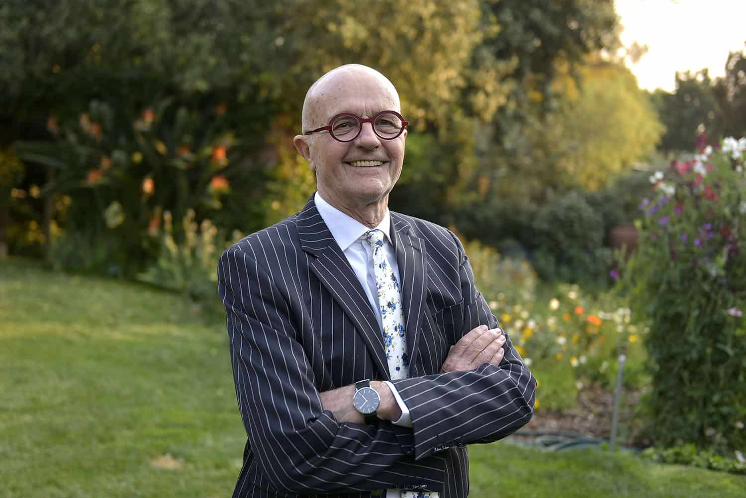 Advocate Wim Trengove speaks to The Citizen at his home in Saxonwold, 30 September 2021 . Picture: Neil McCartney
