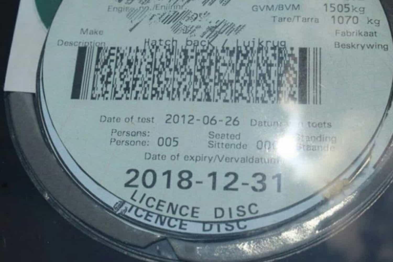 New online service to renew license discs