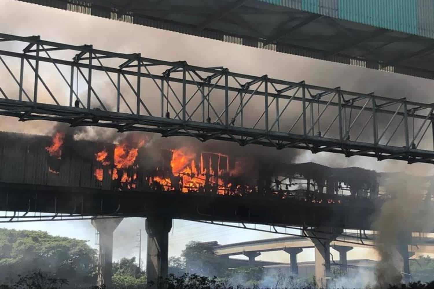 WATCH: Second fire in two weeks rages at Port of Richards Bay